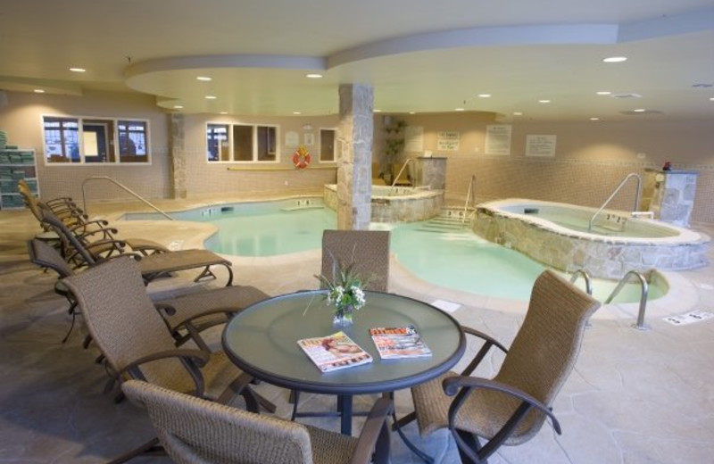 Indoor Pool at Courtyard by Marriott Lake Placid