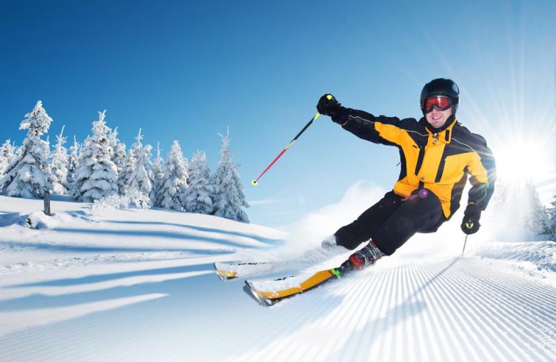Skiing near Summit Resort.