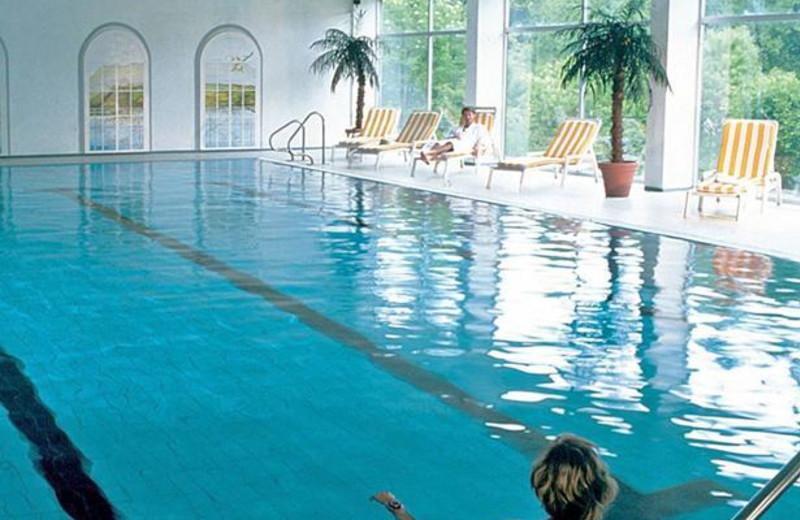 Indoor pool at Dorint Hotel Im Harz, Goslar-Hahnenklee.