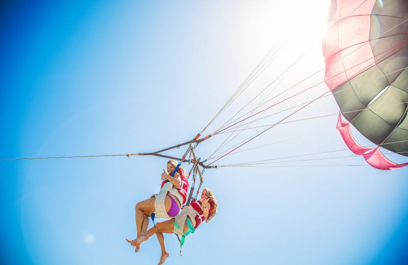 Rental parasailing at Padre Island Rentals.