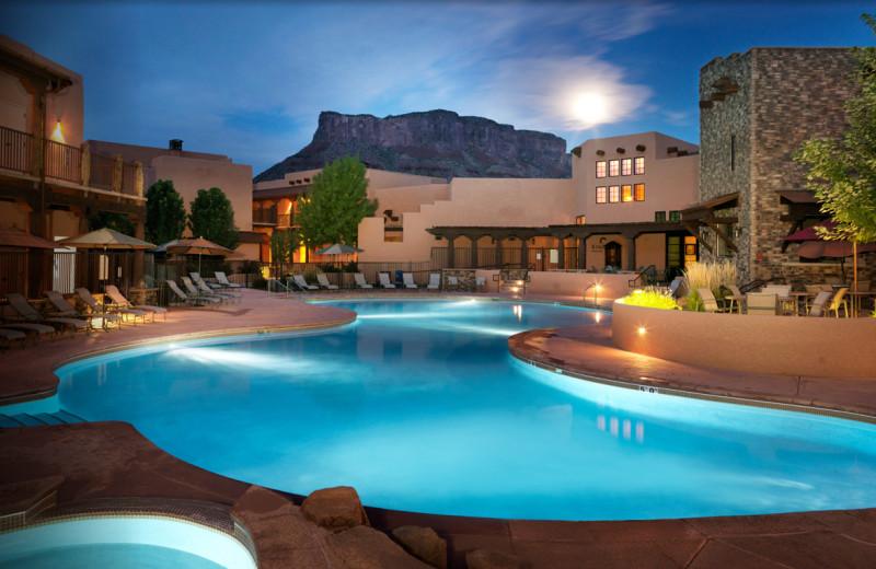 Pool View at Gateway Canyons Resort