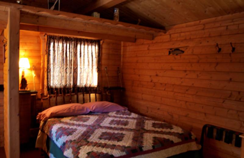 Cabin Bedroom at Mallard's Landing