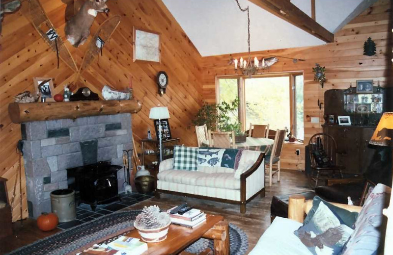 Living Room at Lure of the Loon Resort