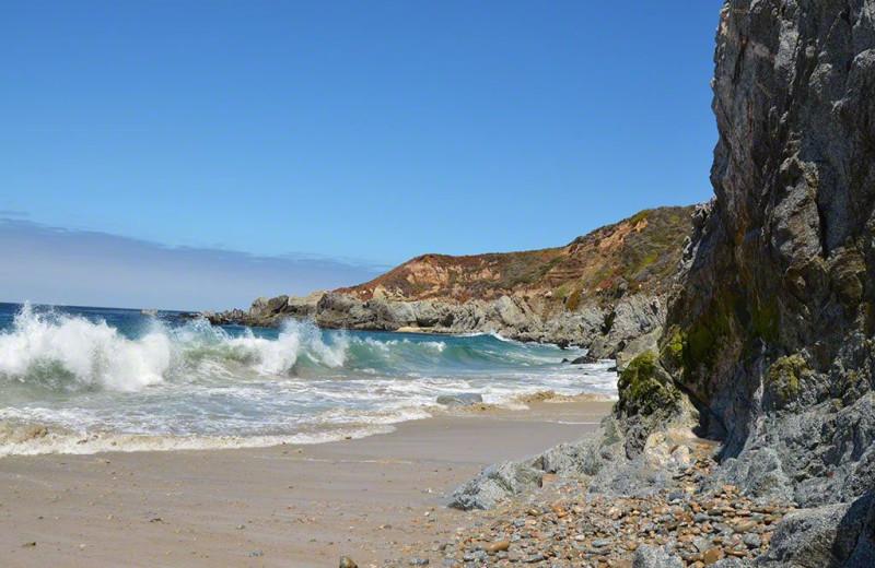 Beach near Carmel Mission Inn