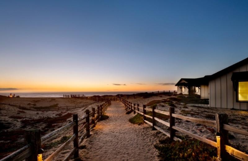 Walkway to the Beach at The Sanctuary Beach Resort