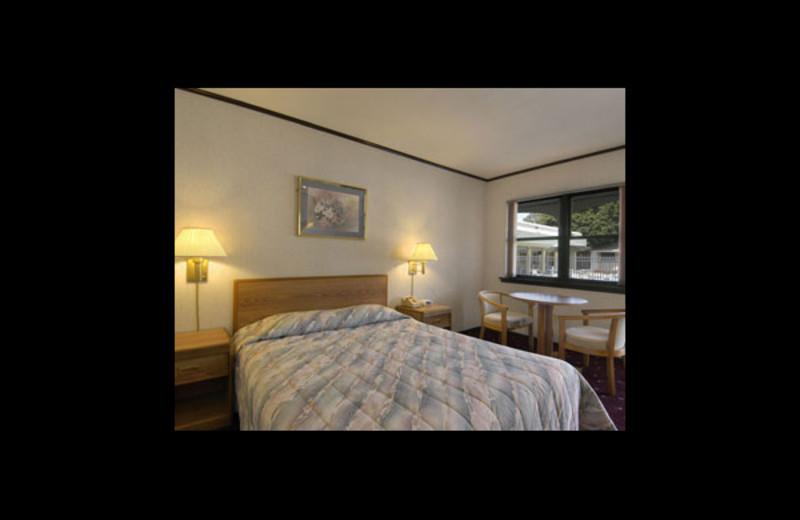 Guest room at Travelodge Wall Spring Lake Belmar.