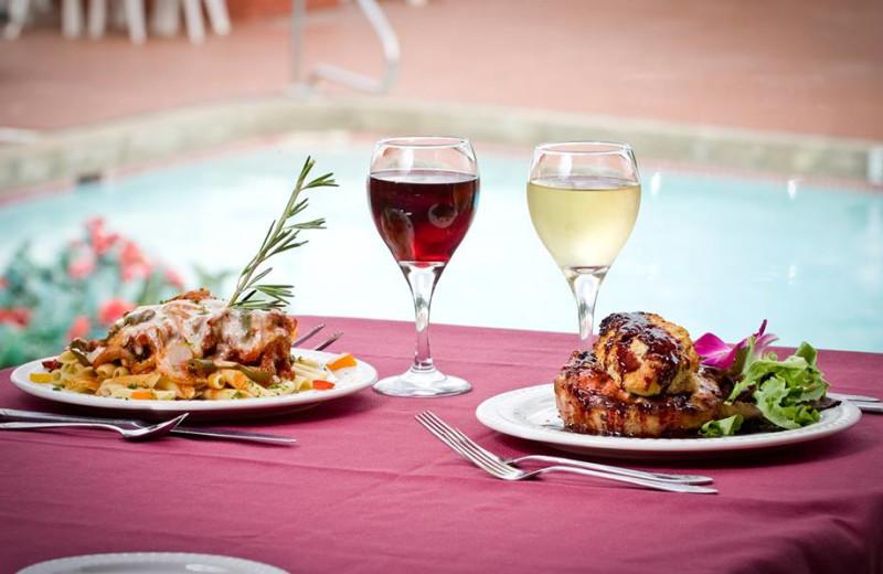 Cuisine at The Georgian Lakeside Resort.