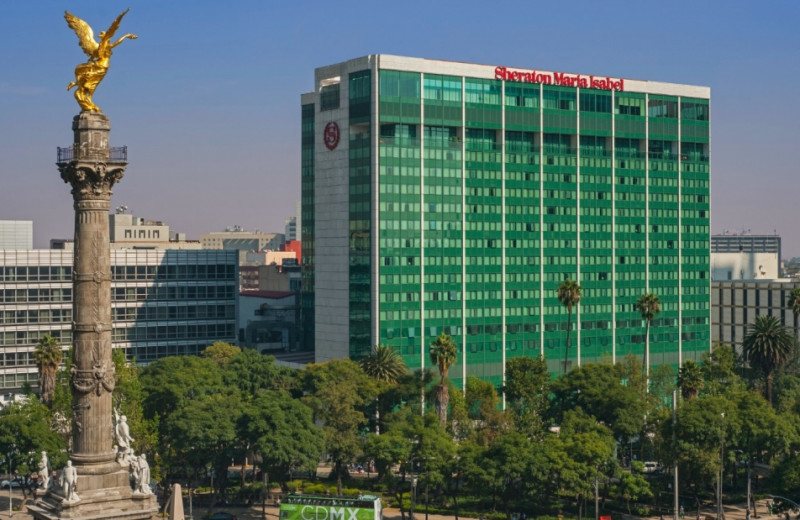 Exterior view of Sheraton Maria Isabel Hotel and Towers.