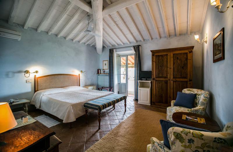 Guest room at La Locanda.