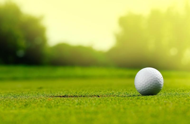 Golf near Elmhirst's Resort.