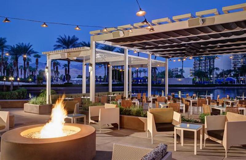 Rockwood Grill Patio at Marriott Desert Springs Resort