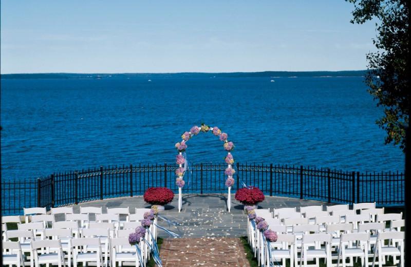 Wedding Ceremony at Bar Harbor Regency