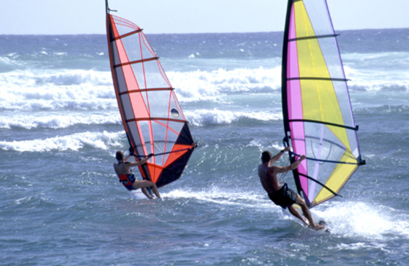 Wind Surfing at Coral Cay Condominiums