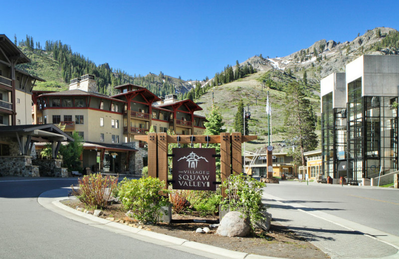 The Village at Squaw Valley next to the Red Wolf Lodge at Squaw Valley