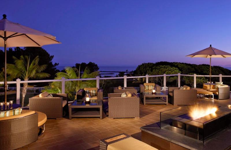 Patio at Laguna Cliffs Marriott Resort & Spa.