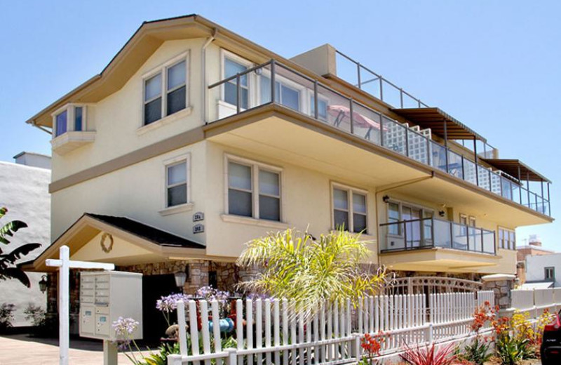 Rental exterior view of Coastal Vacation Rentals.
