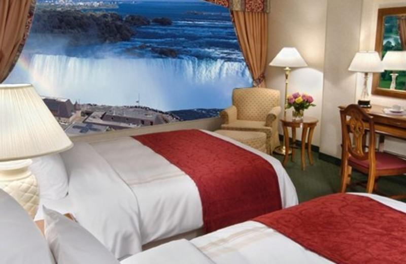 Guest Room at the Marriott Niagara Falls Fallsview Hotel & Spa