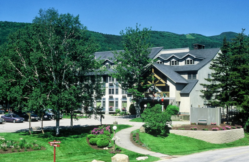 Exterior view of The Valley Inn.
