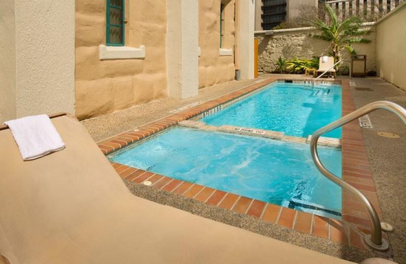 Swimming Pool at Holiday Inn Express San Antonio N-Riverwalk Area