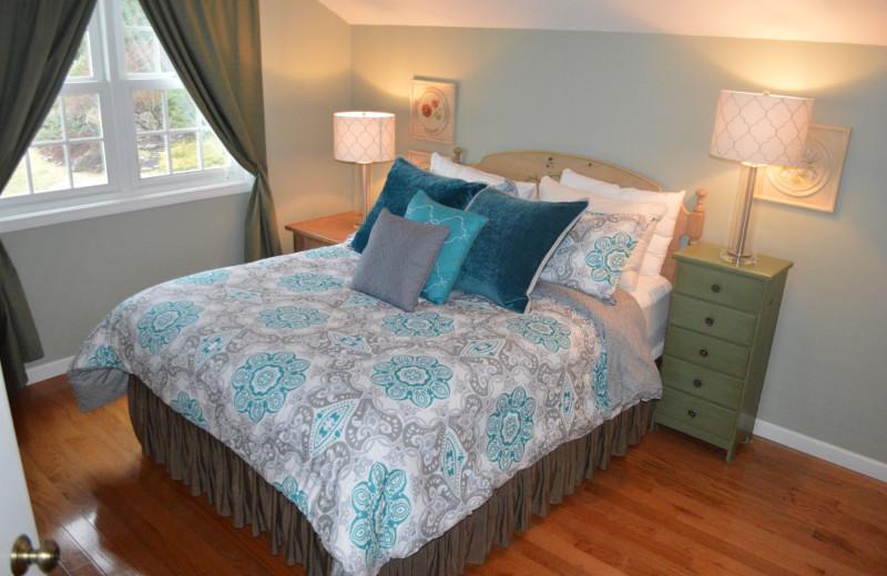 Guest room at Carraig Mor Cottage.
