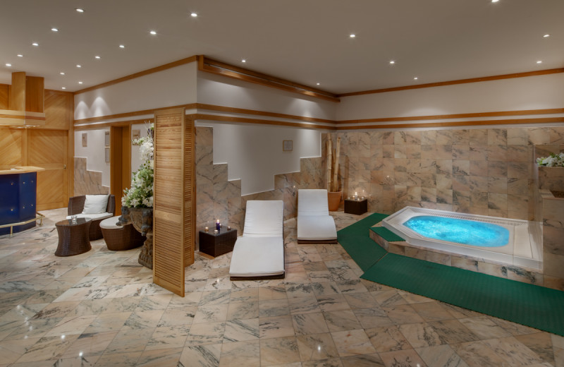 Spa at Hotel Savoy.