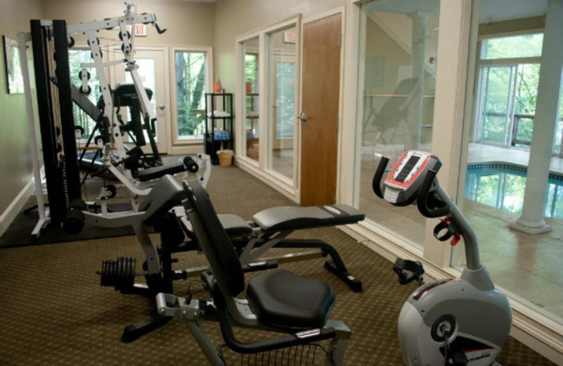 Fitness Center at Crestwood Resort & Spa