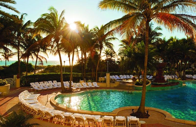 Outdoor pool at Loews Miami Beach Hotel.