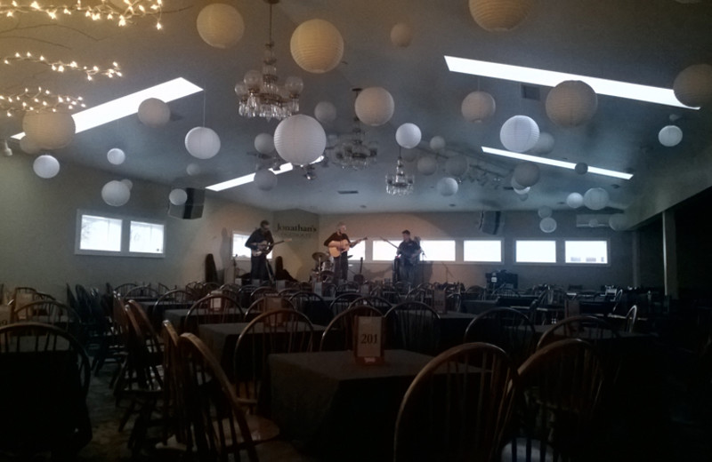 Wedding reception at The Meadowmere Resort.
