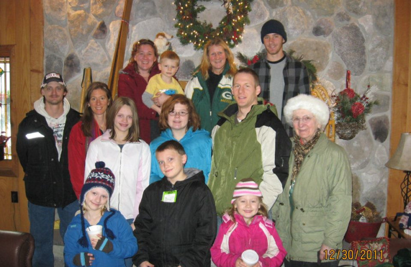 Family reunions at Big Powderhorn Lodging.