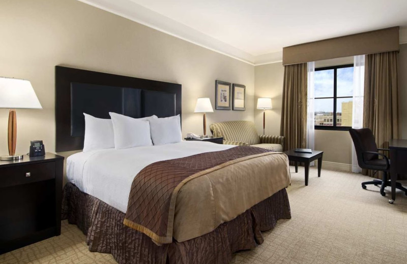 Guest room at Hilton Dallas/Southlake Town Square.