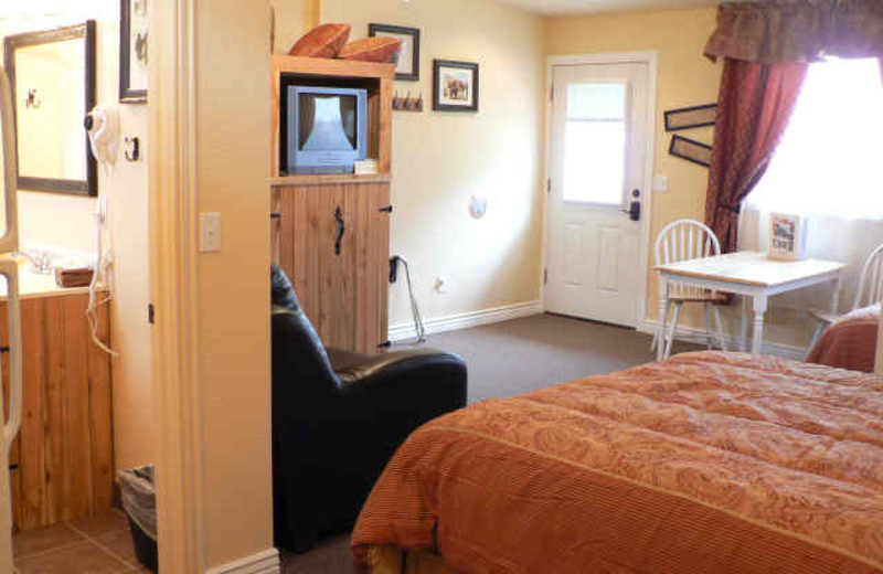 Guest Room at Alpaca Inn
