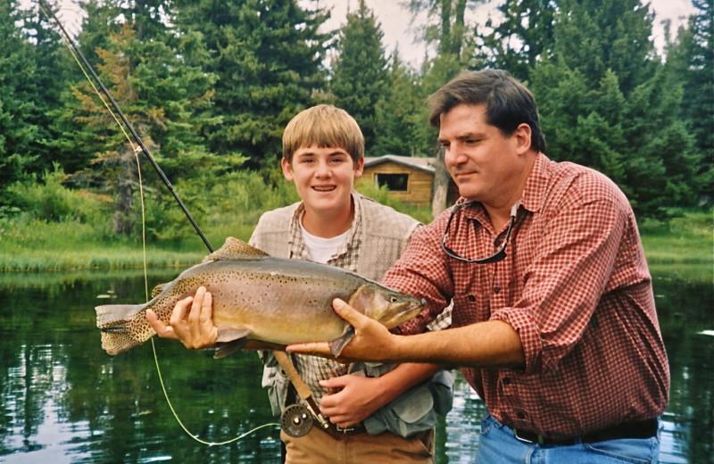 Fishing at Moose Head Ranch
