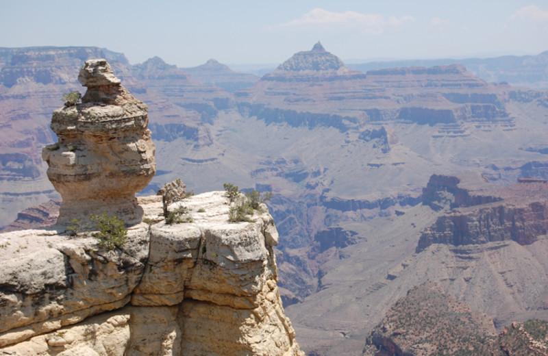 Grand Canyon near The Best Western Abbey Inn Hotel.