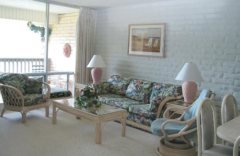 Condo Interior at Coral Cay Condominiums