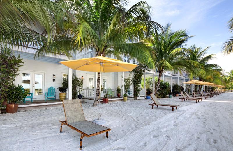 Beach at Parrot Key Resort.