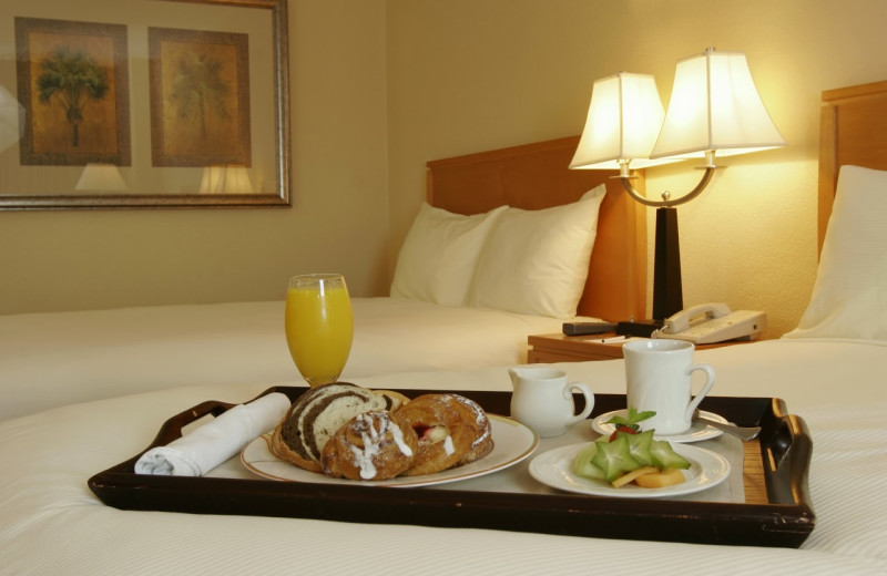 Room service at The Florida Hotel and Conference Center.