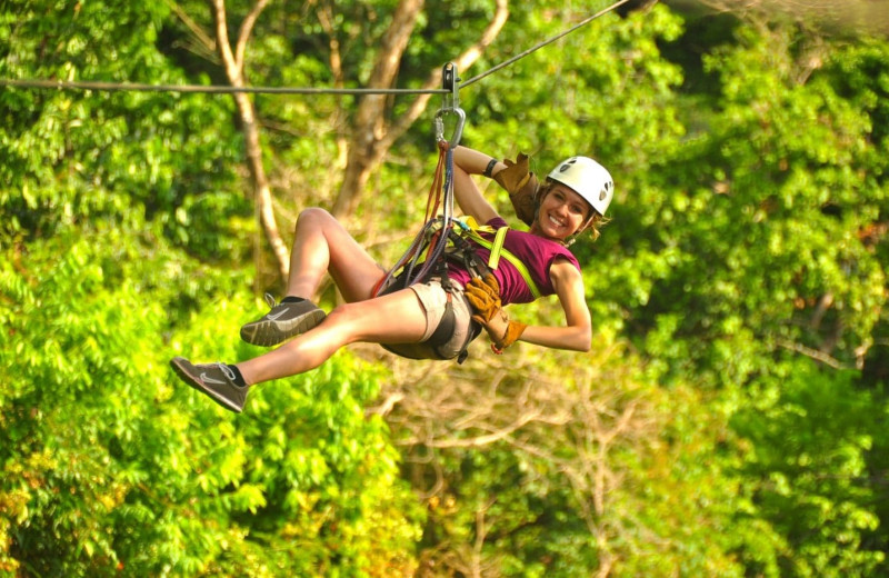Zip line near Costa Rica Luxury Lifestyle.
