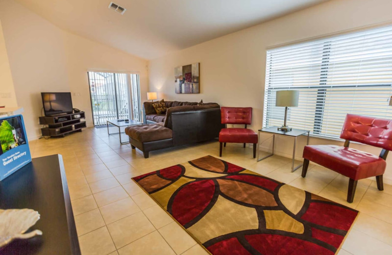 Rental living room at Contempo Vacation Homes.