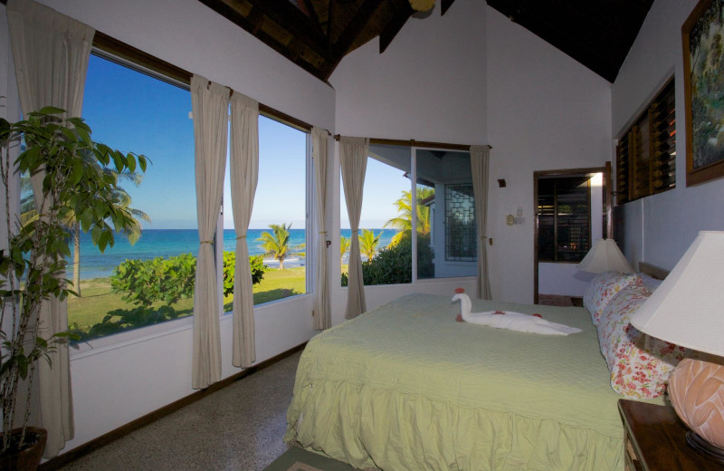 Rental bedroom at Silver Sands Villas and Beach Club.