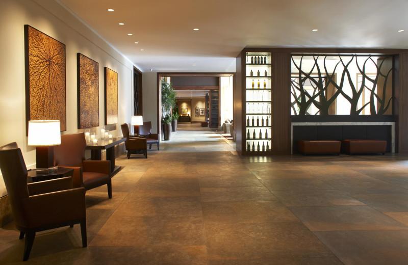 Resort interior at The Westin Riverfront Resort & Spa.