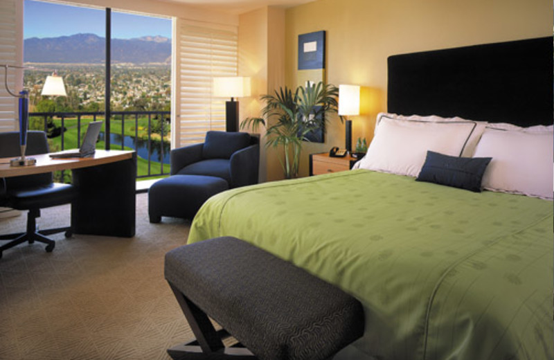 Guest room at Pacific Palms Hotel & Conference Center.