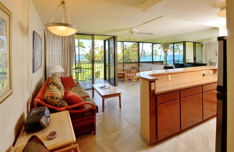 Vacation rental interior at Maui Vacation Rentals.