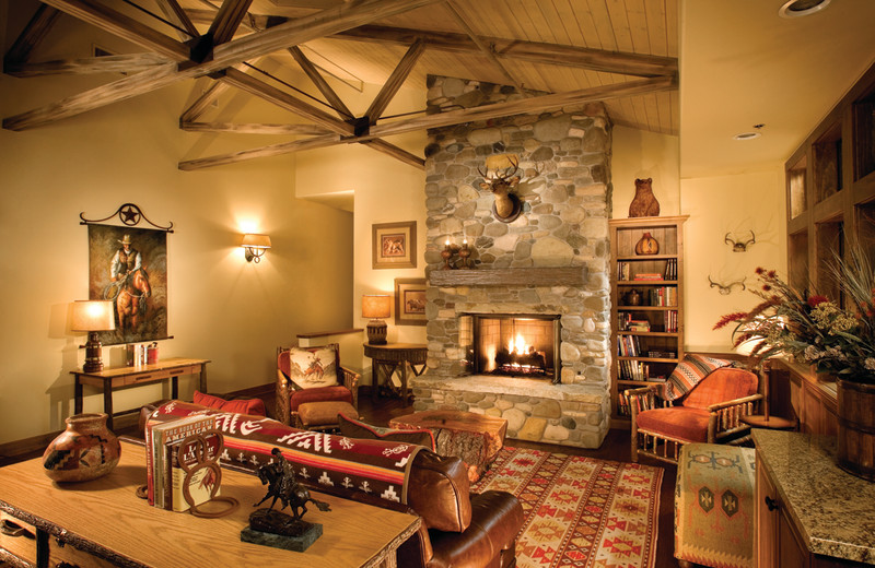 Living room at Alisal Guest Ranch and Resort.