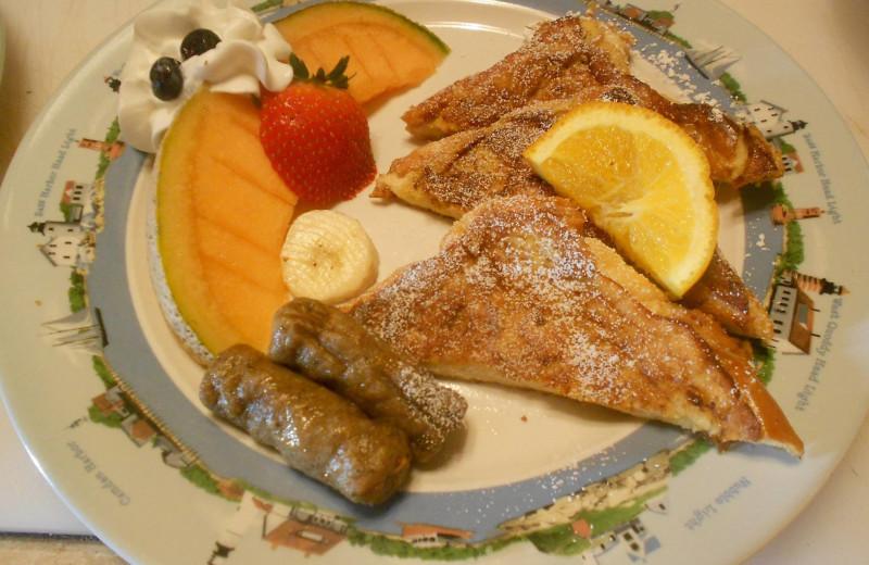 Breakfast at Rockmere Lodge.