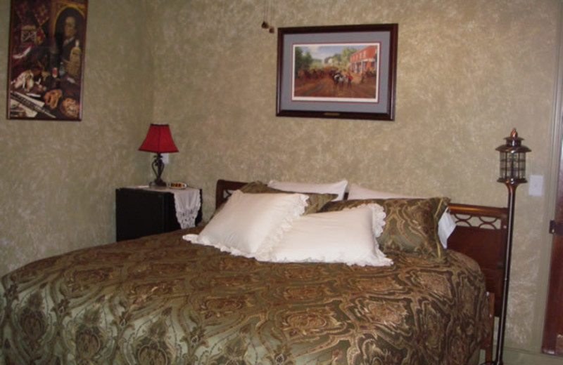 Guest room at Dykeman House Bed & Breakfast.