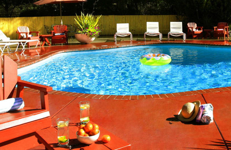 Outdoor pool at West Sonoma Inn and Spa.