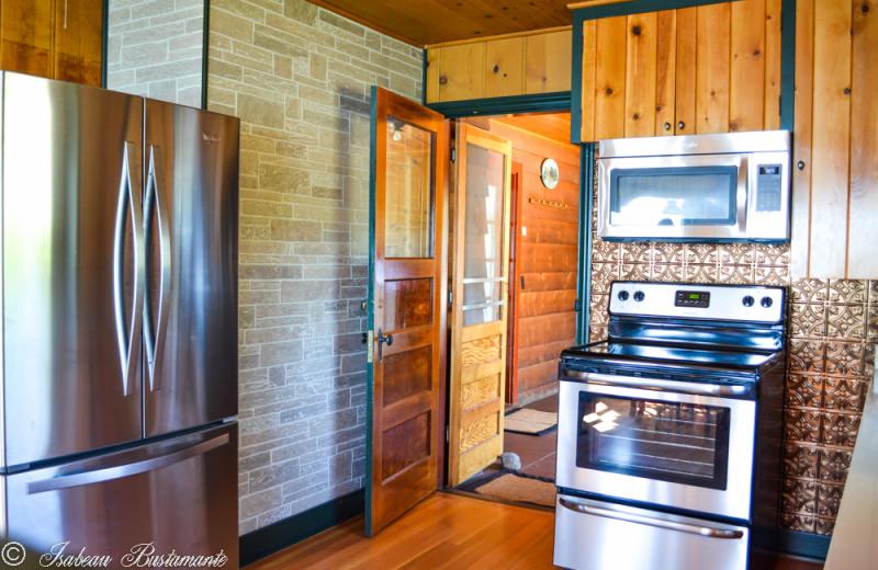 Mansion kitchen at Meeks Bay Resort & Marina.