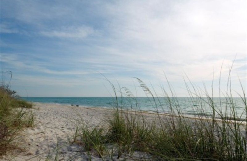 The beach at Boca Grande Resort.