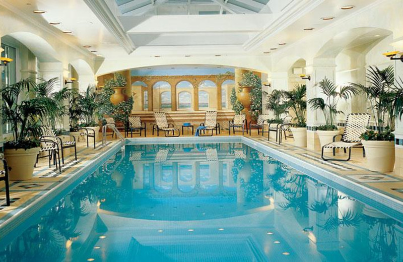 Indoor Pool at The Fairmont Royal York