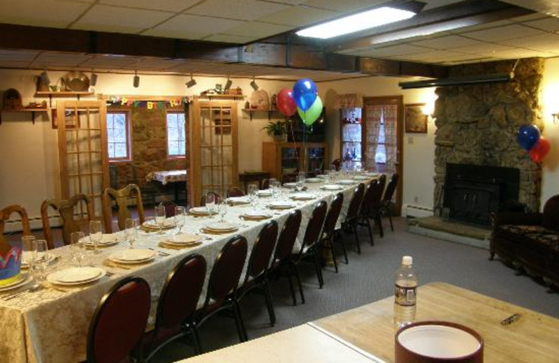 Birthday party at Boulder Mountain Lodge.